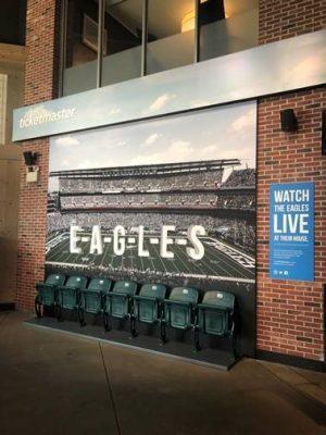 Eagles stadium seats