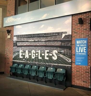 Eagles stadium seats
