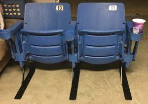 Irwin Arco Arena seats floor stand feet brackets
