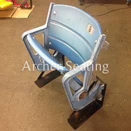 Yankee Stadium Seat with Old Paint