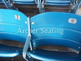 Numbering on Yankee Stadium Seats