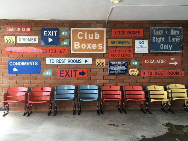 Wooden Signs and Seats