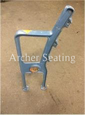 American Seating wooden seat leg 3490