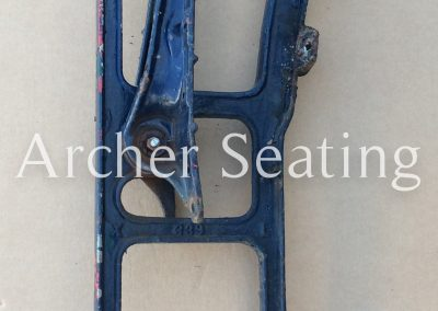 American Seating 3390 casting floor mount legs