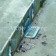 Baltimore Memorial Stadium Drain Grate