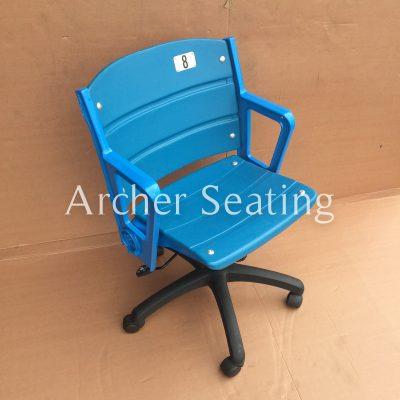 Yankee Stadium rolling office type chair