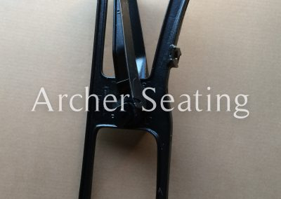 American Seating 3590 casting floor mount leg