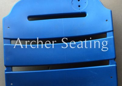 American Seating stadium seat back 507 blue