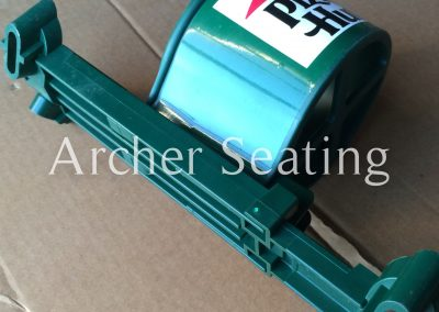 Stadium seat cup holder Hussey Irwin American Seating