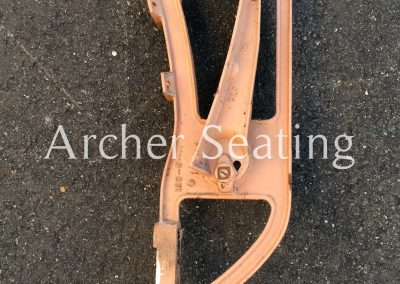 Stadium seat leg wood seats Peabody Ideal
