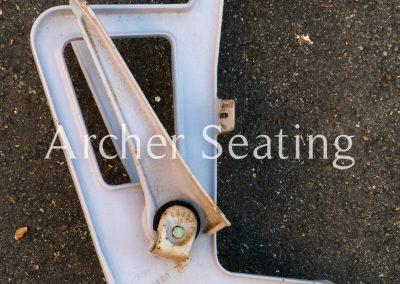 American Seating riser mount leg casting 448 4480