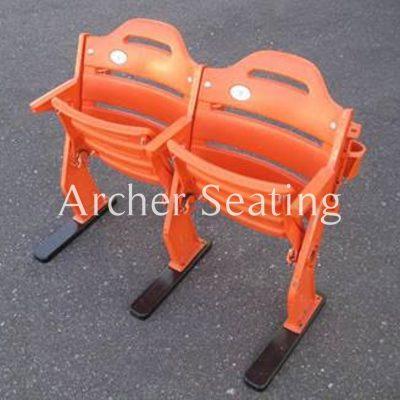 Shea orange stadium seats
